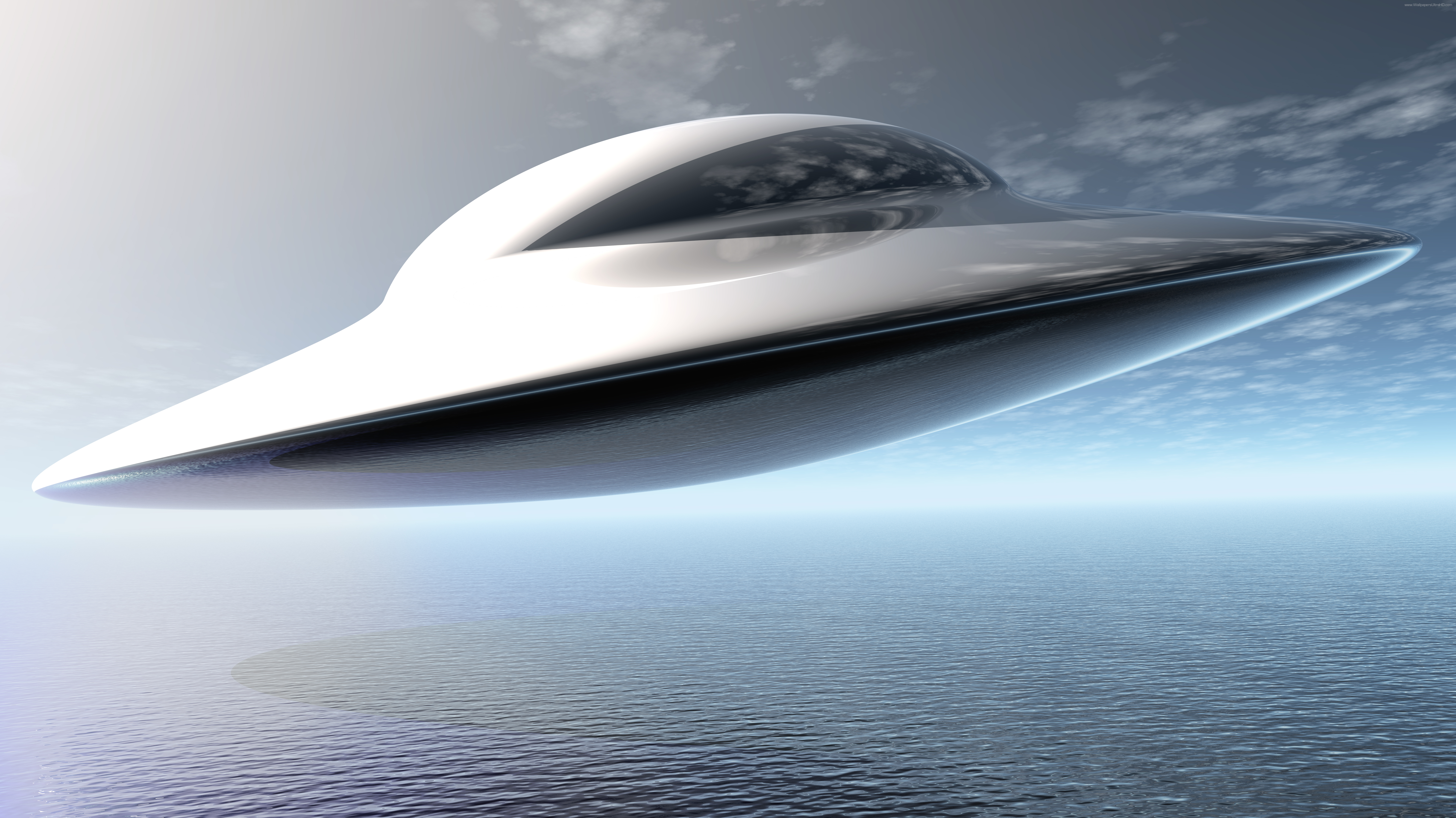 UFO Flying saucer UHD 8K