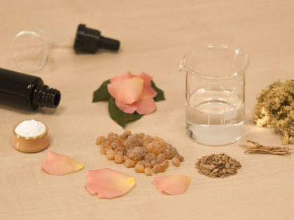 Atelier création de parfum, fragrances