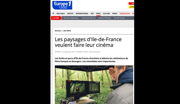 tournage Ile-de-France, tournage série Versailles