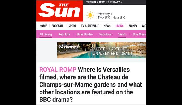 lieux de tournage série Canal+ Versailles, série Versailles sur la BBC, château de Janvry décor série Versailles