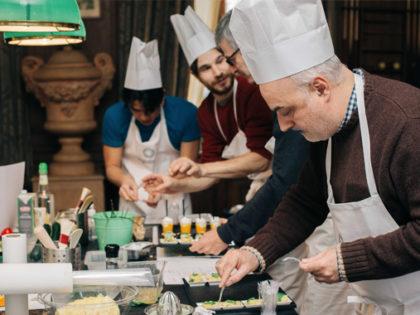 Cours de cuisine pour entreprise