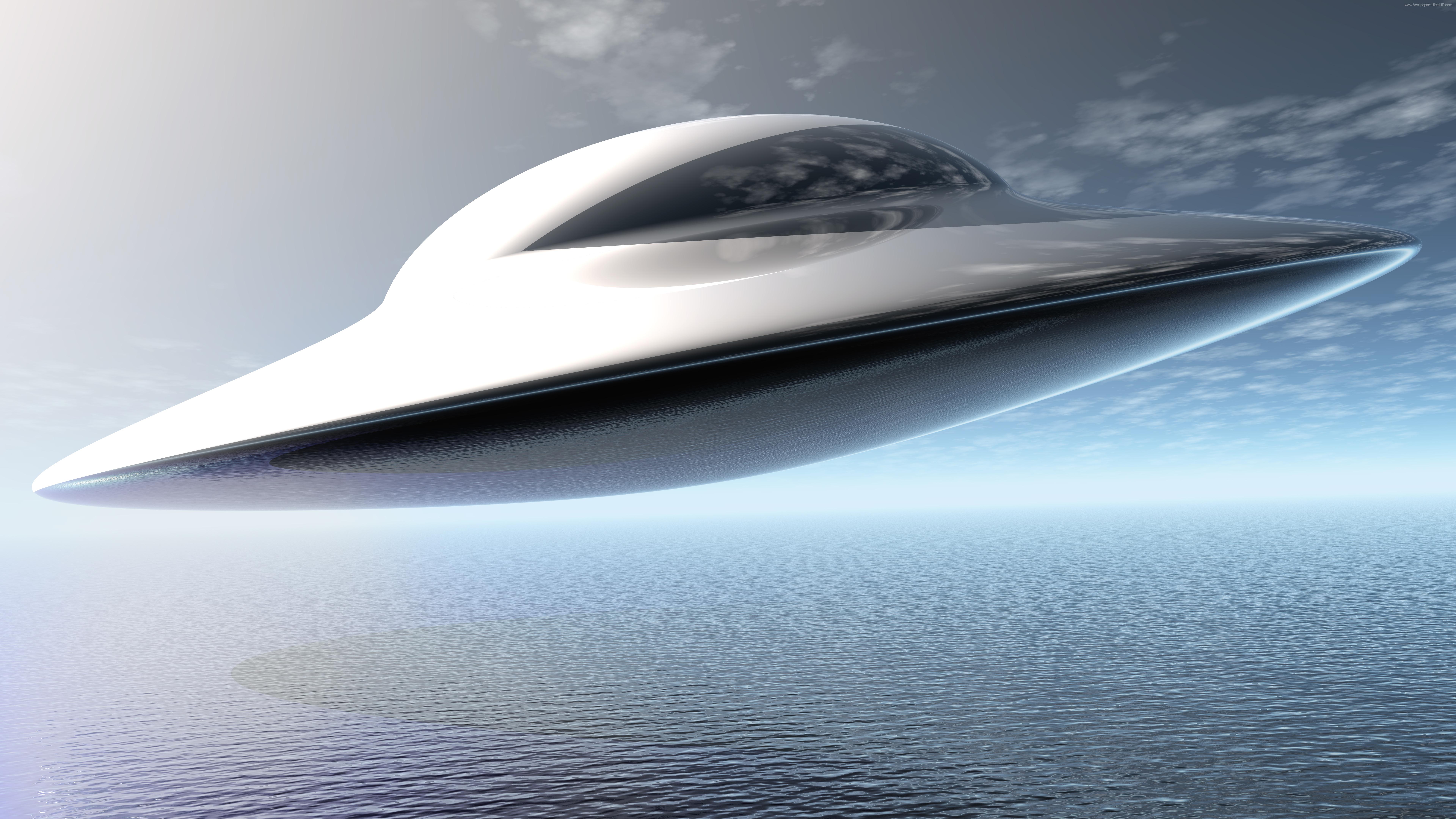UFO Flying saucer UHD 8K