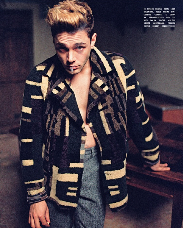 Xavier Dolan, L'Uomo Vogue, Xavier Dolan L'Uomo Vogue 2014, Xavier Dolan Vogue Italie, Shooting photo Xavier Dolan à Janvry by Shayne Laverdière, Xavier Dolan photo, Xavier Dolan photoshoot, Xavier Dolan photo gallery, Xavier Dolan gallery, Xavier Dolan Instagram, Xavier Dolan wallpaper