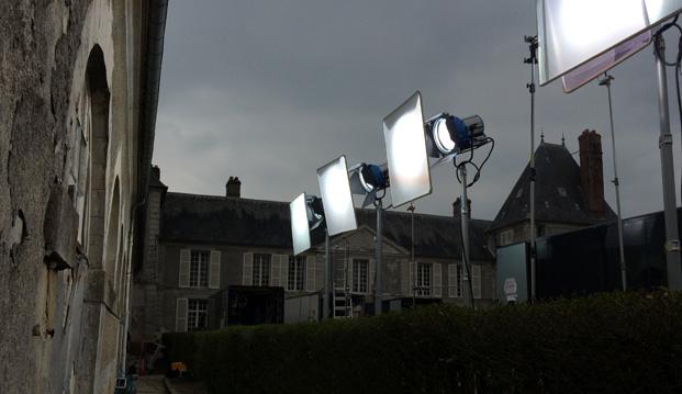 organiser un tournage dans un château, décor de tournage de film en Ile-de-France, lieu de tournage de film en Ile-de-France, tournage de film au Château de Janvry