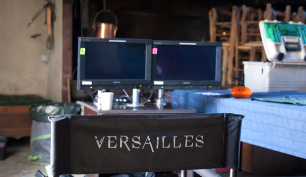 tournage série Versailles, décor série Versailles, lieu de tournage série Versailles, série Canal+ Versailles, création originale Canal+ Versailles
