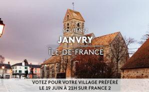 Janvry, le village préféré des français